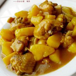 咖喱土豆鸡翅的做法[图]