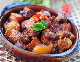 萝卜红烧肉[图]