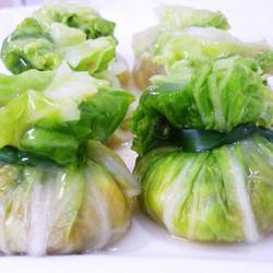 虾肉白菜包的做法[图]