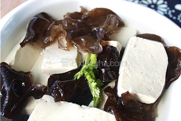 农家蘸水豆腐
