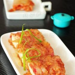 泡菜豆腐培根卷的做法[图]