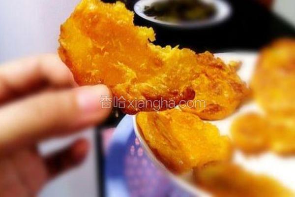 松软南瓜饼