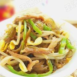 黄豆芽炒粉条的做法[图]