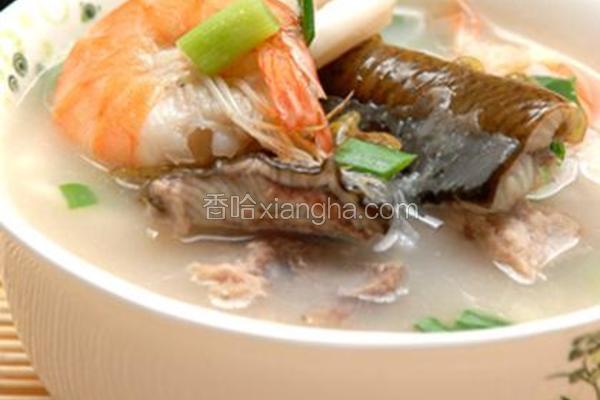 鳝鱼海鲜粥