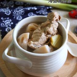 莲藕腔骨汤的做法[图]