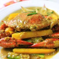 椰浆咖喱蟹的做法[图]