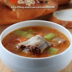 牛尾蔬菜汤的做法[图]