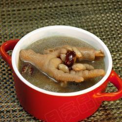 红枣花生煲鸡爪的做法[图]