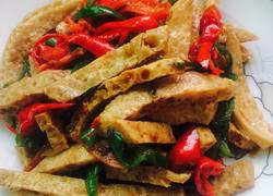 双椒脆豆腐