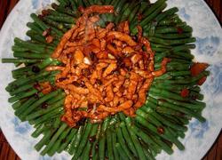 肉丝拌豇豆