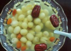 莲子红枣枸杞茶