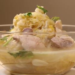 酸菜白肉粉条