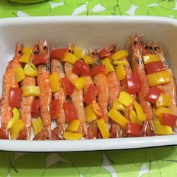 烤南美对虾