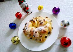 圣诞花环面包