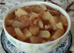 红糖苹果银耳汤