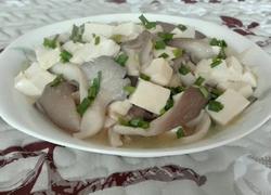 平菇烩豆腐