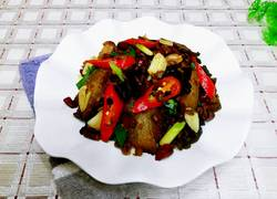豆豉炒腊肉