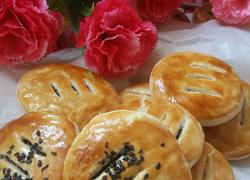 豆沙馅老婆饼(含豆沙制作)
