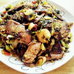 牛肉炒酸菜