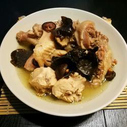 野山蘑炖柴鸡
