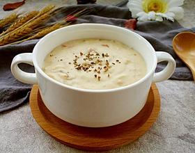蘑菇奶油浓汤[图]
