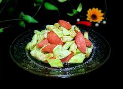 火腿肠炒扁豆