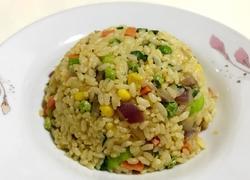 黑椒炒米饭