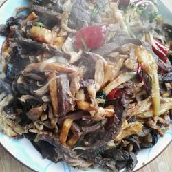 羊杂碎炒土豆条