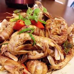 椒盐赖尿虾