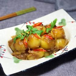 酸梅烧小土豆