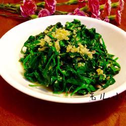 蒜蓉灰灰菜