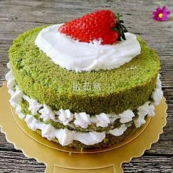 小清新奶油蛋糕