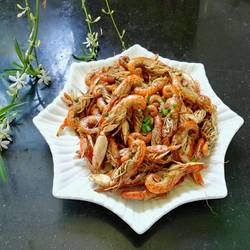 椒盐长腿虾