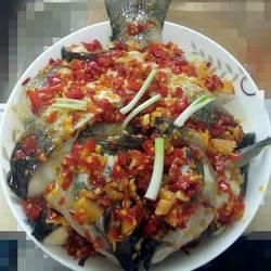 蒸剁椒鳙鱼