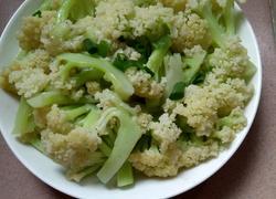 蒜蓉炒花菜