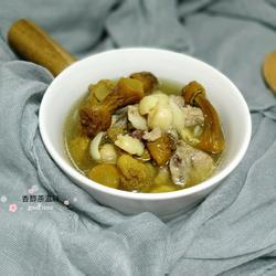 茯苓姬松茸排骨汤的做法[图]