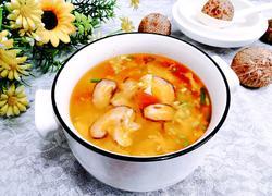 花菇鸡蛋汤