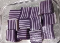 紫薯椰汁千层糕