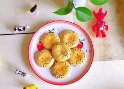 海苔肉松芝麻饼