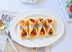 水果燕麦松饼糕