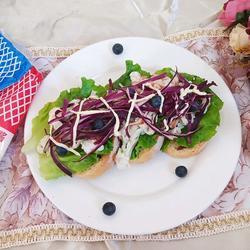 开放式三明治的做法[图]